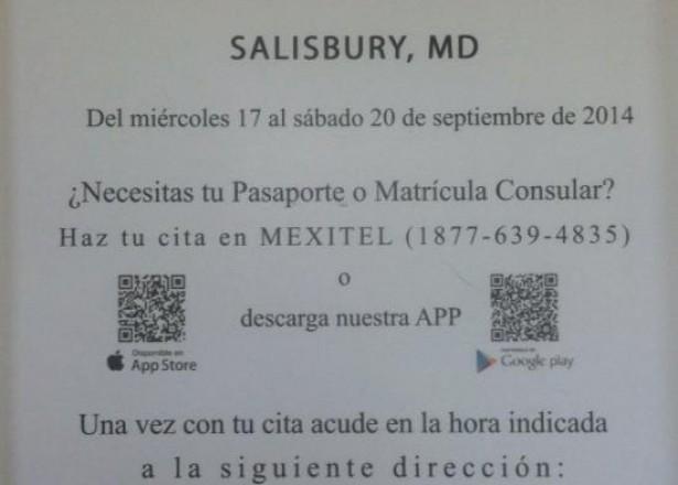 Hoy en Delaware News » Sept  17-20: Consulado móvil mexicano