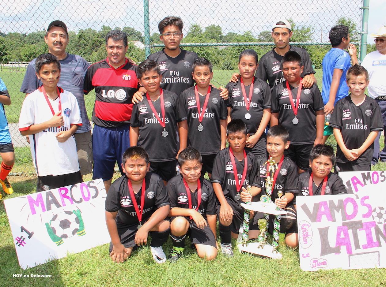 Subcampeón: Latinos