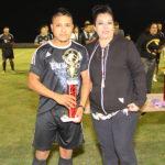 Iver Barrios fue elegido como el mejor jugador de la final.