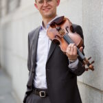 David Southorn, violin (Photo: Courtesy DSO)