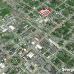 Esta es la ubicación del nuevo complejo relativa a la Ruta 9 y El Círculo.