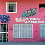 The Hotel Migrante Ángeles Sin Fronteras in Tijuana, Mexico, serves as a temporary home for about 30 of the migrants who have arrived in large caravans from Central America. The shelter primarily houses families with children seeking asylum in the United States.